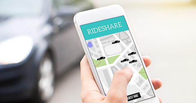 Calling a Rideshare Company