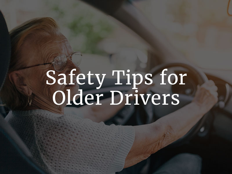 Safety Tips for Elderly Drivers
