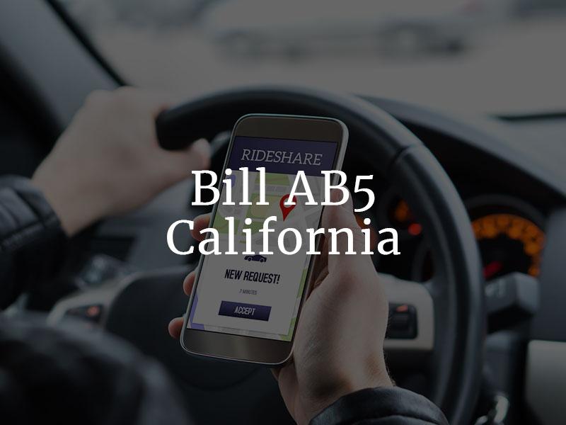 AB5 Bill in California