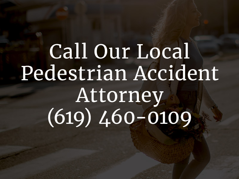Contact a Pedestrian Accident Attorney