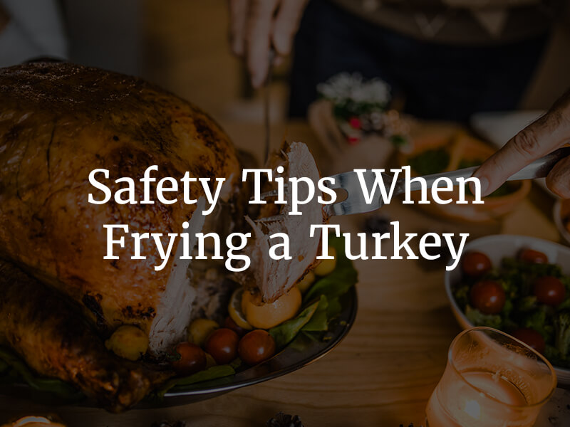 5 Safety Tips when Frying a turkey