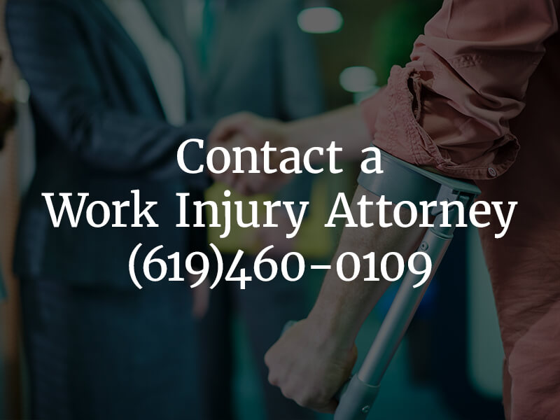 Contact a Work Injury Attorney