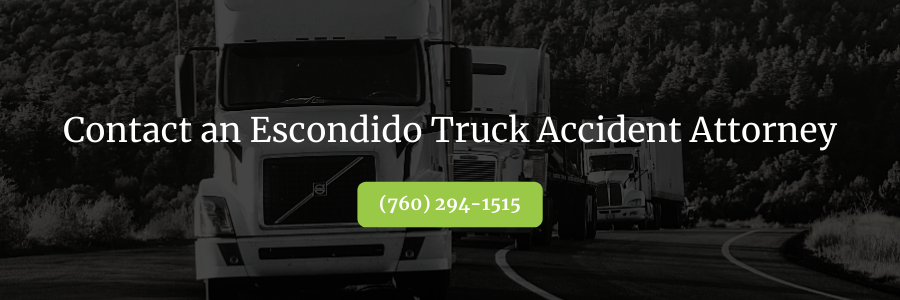 Escondido Truck Accident Attorney
