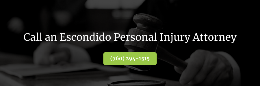Escondido Personal Injury Lawyer